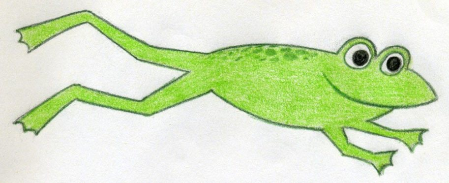 From http://www.easy-drawings-and-sketches.com/cartoon-frog.html