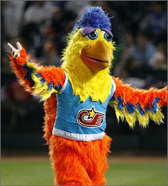 The Mother Fucking San Diego Chicken (photo: USA Today)